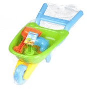 Kids Garden Wheelbarrow Toy Set Childrens Tool Play Set Assorted Colours Great for kids toddlers baby