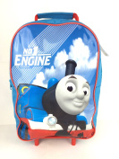 OFFICIAL THOMAS THE TANK HEROES BOYS KIDS WHEELED CASE LUGGAGE SUITCASE TRAVEL BAG NEW