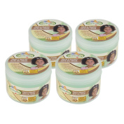 Sofn'Free n'Pretty GroHealthy Thick And Healthy Olive Oil Cream 260ml Pack of 4