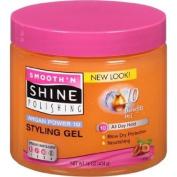 Smooth 'n Shine Polishing Argan Power 10 Nourishing Styling Gel, 470ml