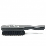Badass Beard Care 100% Boars Hair Hardwood Frame Black Series Beard Brush For Men with Handle