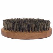 Badass Beard Care Beard Brush for Men - 100% Pure Boars Hair Bristles, Lightweight Bamboo Handle, Perfect Size for a Beard