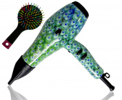 ISO Limited Edition Nano Ionic - Professional Hair Dryer with Detangling Brush