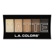 (3 Pack) L.A. Colours Matte Eyeshadow - Brown Tweed