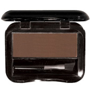 Brush On Brow for Perfectly Shaped & Contoured Brows - Lightweight pressed brow powder compact that creates a subtle natural brow to a fierce night out brow