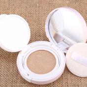 Mallofusa SPF 30PA++ Sun Block Air Cushion BB Cream Foundation Powder Primer,Light Ivory,15ml