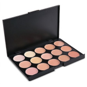 AABABUY Pro 15 Colour Concealer Palette Makeup Base Palettes Cosmetic