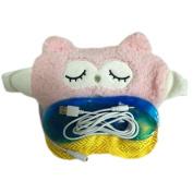 Ayygiftideas Lovely Owl USB Eye Mask Warm Heating Eyeshade Blindfold Eye Pillow