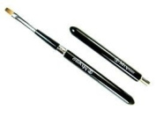 Makeup Brush MK series -3 dome-shaped portable lip brush Black Sable 100% Kumano Miyao industry makeup brushes