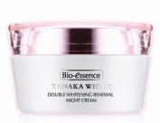 Bio-Essence Tanaka White Double Whitening Renewal Night Cream 50g Moisturise and Repair All Night , Reduce the appearance of wrinkles and fine lines