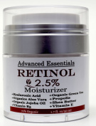 Retinol Moisturiser Cream for Face and Eye Area with Hyaluronic Acid, vitamin E , B5 and Green Tea. Potent Anti Ageing Formula, Stimulates Collagen for firmer, smoother, wrinkle-free skin. 50ml