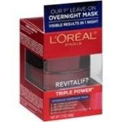 (2Pack) L'Oreal Paris Revitalift Triple Power Intensive Overnight Mask, 50ml=100ml