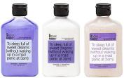 Aromatherapy Body Wash, Exfoliating Scrub, & Lotion Gift Set - Coconut Milk & Mango - Emotional Well-Being Formula