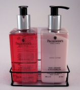 Pecksniff's England - Ruby Orange & Watermelon Moisturising Hand Wash and Moisturising Hand & Body Lotion