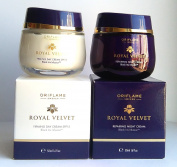 Oriflame Royal Velvet 40+ SET : Firming Day Cream SPF 15 + Repairing Night Cream