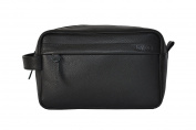 Kiko Leather Travel Kit, Black