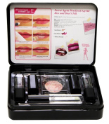 Licence to Thrill Secret Agent 7 Piece powdered lip kit with metal Case - Kiss and Don't Tell