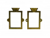 Anodized Steel 2 Piece Flask Mould for Sand Casting Jewellery Making Tool