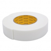 MyLifeUNIT Super Sticky Sponge Rubber Foam Tape, Industrial Strength Double Sided Sponge Tape, 3.6cm W x 0.3cm H x 4.6m L