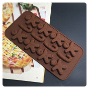 Silicone Mould Chocolate Ice Cube Tray Muffin Moulds DIY SOAP Mould Jello Candy