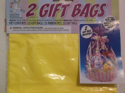 Set of 2 Yellow Easter Unlimited *Gift Bags*