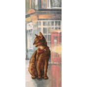 Cats In Town I Counted Cross Stitch Kit-11cm x 27cm 14 Count