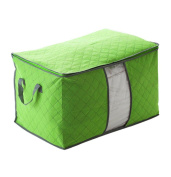 Sunfei ®Bamboo charcoal clothing storage bag Quilt storage case Bedding organiser