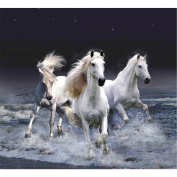 Awakingdemi 5D DIY Diamond Painting Horse Without a Stop Cross Stitch Wall Stickers Rhinestone Painting Home Decor