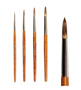 5 Pieces Professional Oil Painting Tools for Child/Painting Brushes Sets