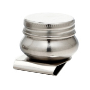 MyLifeUNIT Stainless Steel Large Mouth Single Palette Cup with Screw Cap