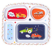 C.R. Gibson Melamine Divided Tray, Zoom Zoom