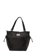 'Brook' Baby Bag / Nappy Bag - Carryall Tote - Black