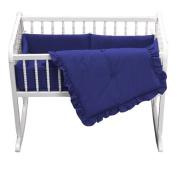 bkb Primary Cradle Bedding, Royal Blue, 38cm x 80cm