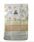 Rene Rofe NewBorn Baby Receiving Blanket 5 pack