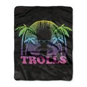 Trolls Multicoloured Trolls Throw - 100cm x 130cm