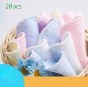 BeautyMood 20pcs Softest Natural Antibacterial Ecological cotton Washable Nursing Pads-Reusable for Breastfeeding pads Women Eco-friendly Collects Milk Pads