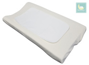 Snoozy 3 Piece Flannel Waterproof Reversible Changing Pad Liners