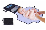 Nappy Changing Kit By Lebogner - Deluxe Travel Changing Station, Changing Pad