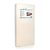 Antimicrobial, Hypoallergenic Memory Foam Crib Mattress with Soft Waterproof Cover