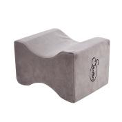 Sheltin Memory Foam Knee Pillow Pain Relief For Sciatic Nerve , Leg , Back -Most Comfortable Orthopaedic Leg Positioner Contour Knee Spacer Best Pillows