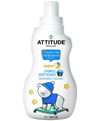 Attitude Fabric Softener Night Time - 40 Loads, Soothing Chamomile, 33.8 Fluid Ounce