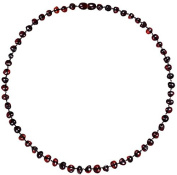 Baltic Amber Pain Relief Necklace for Adults - Lab-Tested - Cherry Colour - 46cm