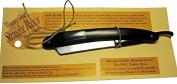 Straight Razor, Black Wooden Handle, 420 Stainless Steel