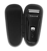 FitSand (TM) Carry Travel Zipper EVA Storage Hard Case Box for Remington F2-3800L with Flexing Foil Technology - Foil Shaver case