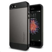 Spigen iPhone SE/5s/5 Slim Armor Case -Gunmetal,Slim & Smooth Design,Dual Layered Protective Case,