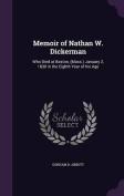 Memoir of Nathan W. Dickerman