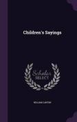 Children's Sayings