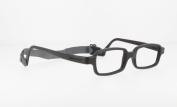 Miraflex New Baby2 Kids Eye Glass Frames | 42/14 Black | Age:5-8