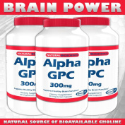 Alpha GPC, 300 mg, 90 Veggie Capsules - SHARP GPCTM - A Natural Source of Choline