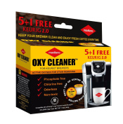 Keurig Cleaning, Stain Remover, Compatible for Keurig 2.0, Biodegradable, Non Toxic, Perfect For all K-Cup Brewing System, 6 Time Cleaning